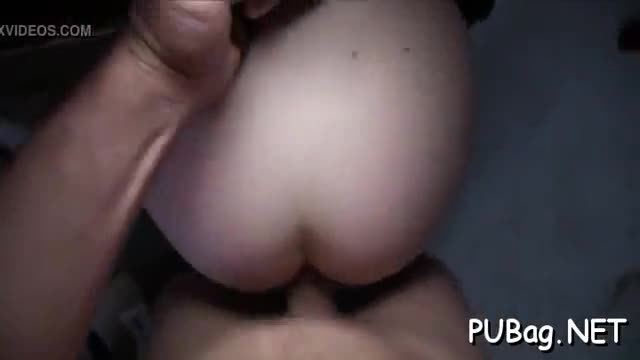 Stunningly beautiful babe is fucked vigorously doggystyle