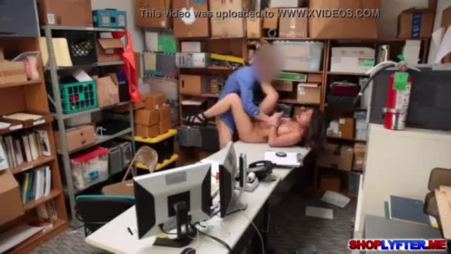 Sexy thief Shane Blair gets a hot hardcore fuck
