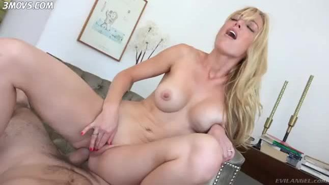 Kayden Kross fucks the cock anal cowgirl pov style