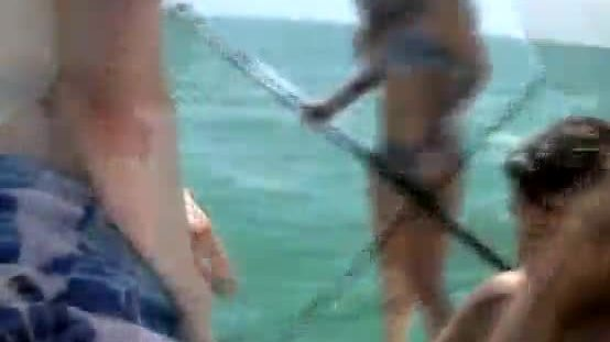 Amateur Sucking Dick On A Paddle Board During Cash Stunt