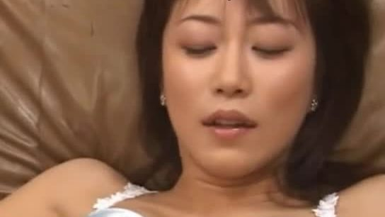 Leather couch and real asian slut